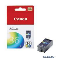 КАРТРИДЖ CANON CLI-36, Pixma 260 mini,color, Original