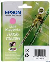 КАРТРИДЖ EPSON T08264, R270/R290/R295/R390/RX590/RX610, Light Magenta, (O)