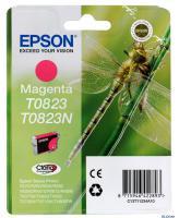 КАРТРИДЖ EPSON T08234, R270/R290/R295/R390/RX590/RX610, Magenta, (O)
