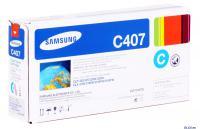 КАРТРИДЖ SAMSUNG CLT-K407S для CLP-320/325/CLX-3185 1k cyan (O)