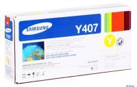КАРТРИДЖ SAMSUNG CLT-K407S для CLP-320/325/CLX-3185 1k yellow (O)