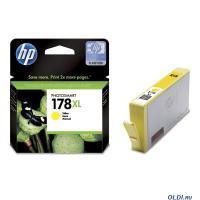 КАРТРИДЖ HP DJ 178XL  CB325HE Yellow, 7,5мл, 750стр, (О)