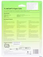 КАБЕЛЬ ВЫСОКОЧАСТОТНЫЙ TP-Link TL-ANT24PT, 3m Cable length, N-type Male to RP-SMA Male connector