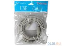 КАБЕЛЬ USB 2.0 AM>BM 5M Telecom