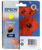 КАРТРИДЖ EPSON T1704 Expression Home XP-33/103/203/207 Yellow Orig
