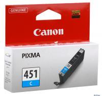 КАРТРИДЖ CANON CLI-451C IP7240/MG6340/MG5440, 7мл, 304стр, (O)