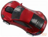 МЫШЬ CBR MF-500 Lazaro USB Red 1200 dpi, игр.автомобиль, подсветка, сувенирная