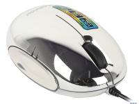 МЫШЬ Defender Rainbow MS-770L Chrome, USB 2кн+кл 1000dpi, подсвет.5цв
