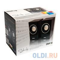 ЗВУКОВЫЕ КОЛОНКИ Dialog Stride AST-15UP CHERRY - 2.0, 6W RMS, вишневые, питание от USB