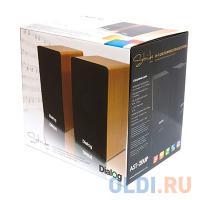 ЗВУКОВЫЕ КОЛОНКИ Dialog Stride AST-20UP BLACK - 2.0, 6W RMS, черные, питание от USB