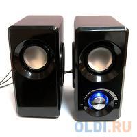 ЗВУКОВЫЕ КОЛОНКИ Dialog Stride AST-25UP CHERRY - 2.0, 6W RMS, вишневые, питание от USB