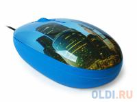 МЫШЬ+КОВРИК CBR Infinity,  1200 dpi, рисунок, USB