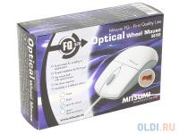 МЫШЬ (PS/2) Mitsumi Optical Wheel Mouse ECM-S6702 DarkGrey Ret