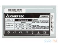 БЛОК ПИТАНИЯ CHIEFTEC 350W OEM HPS-350NS ATX v.2.3, 1x 24Pin, 1x 4Pin, 4x SATA, 2x MOLEX, Fan 12cm