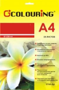 ФОТОБУМАГА COLOURING микропористая сатин А4 260 г/м2, 25л