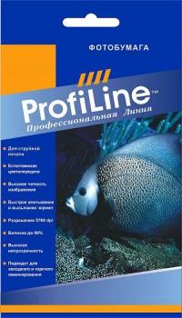 ФОТОБУМАГА PROFILINE микропористая сатин 10х15 260 г/м2, 25л