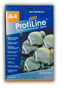 ФОТОБУМАГА PROFILINE сатин атласная А4 260 г/м2, 50л