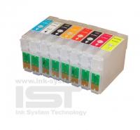ПЗК T0870-T0874,T0877-0879 для EPSON St Photo R1900 8 шт RE- R1900 IST