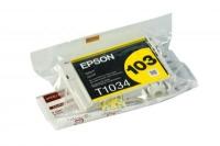 КАРТРИДЖ EPSON T1034 St Office T40W/TX550W/600FW/610FW желт Китай