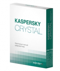 ПО Kasperssky Anti-Virus CRYSTAL Russiun Edition Для Windows XP/Vista/7 (12 месяцев)