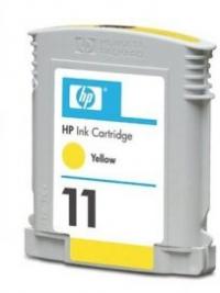КАРТРИДЖ HP DJ  11 2200/2250С С4838А, yellow 28мл compat