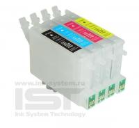 ПЗК T0631/0632/0633/0634 для EPSON St C67/C87/CX3700/CX4100/CX4700  4 шт auto IST