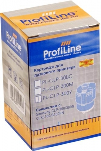 КАРТРИДЖ SAMSUNG CLP 300C для CLP-300/300N/CLX3160/3160FN 1k Cyan Profiline